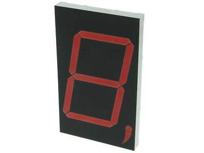5in. 7 Segment LED Common Cathode Display, Red *34491 OP