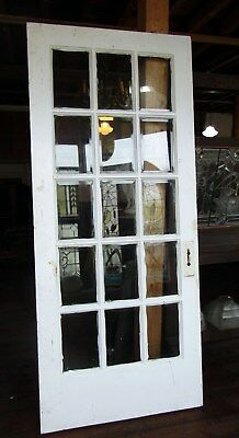 Victorian 15 Lite Beveled Glass Door
