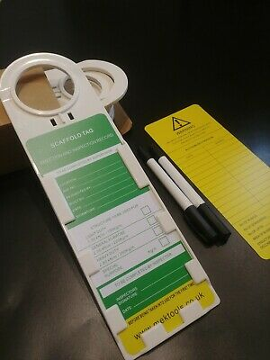 Scaffold Tags safety tags Ladder Tag - Box of 10