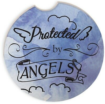 AngelStar Auto Coaster Protected Angels 7cms (2.75 inch)