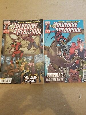 wolverine and deadpool comics