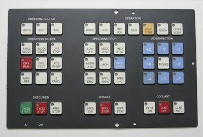 Operator Keypad FANUC 0M, A98L-0001-0524#J Replacement