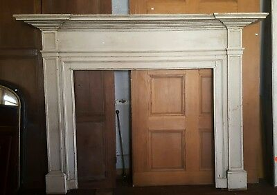 Antique Early Federal Period Fireplace Mantel