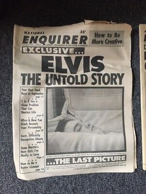 Elvis the untold Story News Paper