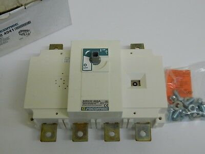 Socomec 2600 4041 SIRCO 400A Switch Disconnector Isolater 4Pole