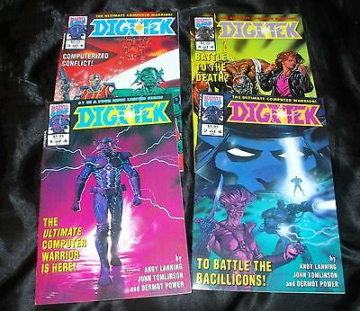 Vintage DIGITEK Marvel Comics Limited Series - ALL 1ST EDITIONS - Deathlok