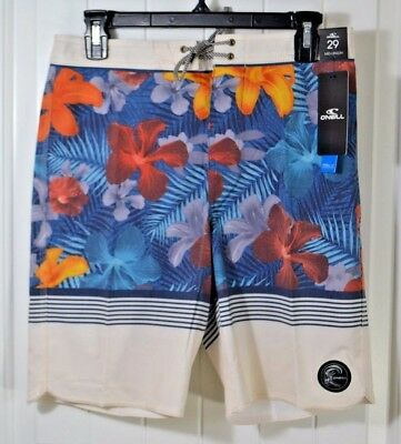 NWT O/'NEILL HYPERFREAK TURQUOISE SWIMMING SUIT TRUNKS BOARD SHORTS SZ 8 10 SLIM