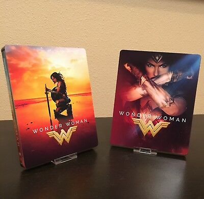Magnetic Cover Art for Wonder Woman Steelbook