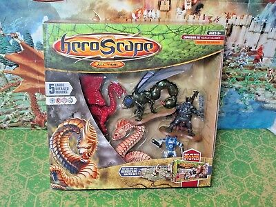 Heroscape Aquilla's Alliance Large Figure Expansion Set - New In Box