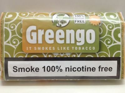 1 PACK GREENGO HERBAL SMOKING MIXTURE 30g 100% NICOTINE & TOBACCO FREE