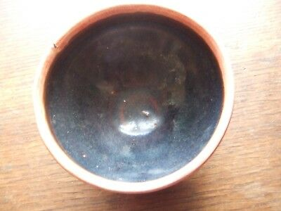 China.  Sung Dynasty. Larger Size Dark  Brown Glazed Pottery Tea Bowl,