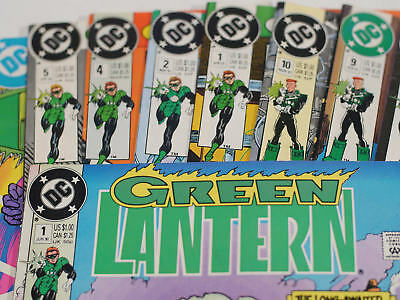 14 Green Lantern comic book lot! Includes #1! 1985-1992 Hal Jordan John Stewart