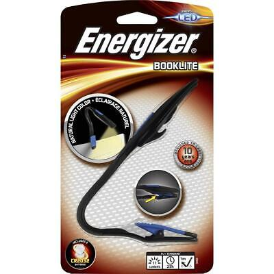 Energizer LED Book Reading Light NEW Flexible Clip Include Batteries