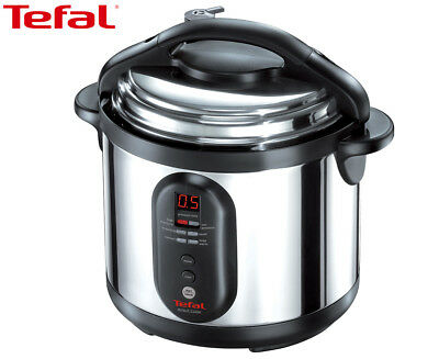 Tefal CY4000 Minut'cook Pressure Cooker - Chrome