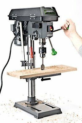 """Genesis GDP1005A 10"""" 5-Speed 4.1 Amp Drill Press with 5/8"""" Chuck, with Integrate"""