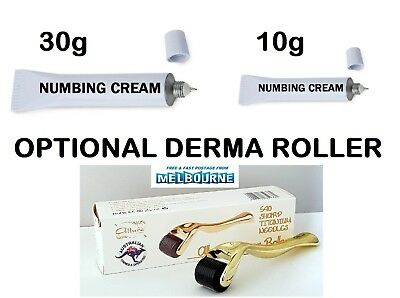 Tattoo Numbing Cream Topical Anesthetic Optional Derma Roller Microneedleing
