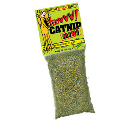 Yeowww -  Catnip Mini 100% Organic Leaf & Flower Top Blend That Actually Works !
