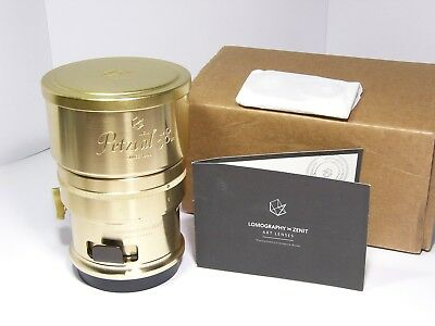 Lomography Petzval 58mm f/1.9 Bokeh Control for Nikon F Mount Art Lens Gold