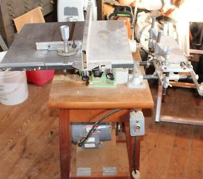 Inca Cabinet Makers Table Saw W/ Mortiser Table ***nice**
