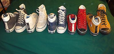 Vintage Sears Converse The Winner High Tops Made In Usa  Complete Set