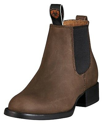 Ariat - Kid's Acton Boots - Distressed Brown - ( 10001985 ) - New