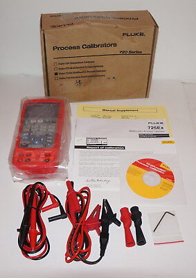 Fluke 725Ex Intrinsically Safe Multifunction Process Loop Calibrator Damaged Box