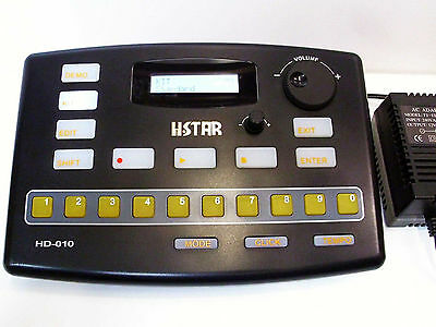 Electronic Drums Brain Module Hstar HD010 - USB - Midi Controller +Power Adapter