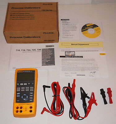 Fluke 725 Multifunction Process Loop Calibrator Mv Ma Volt Brand New