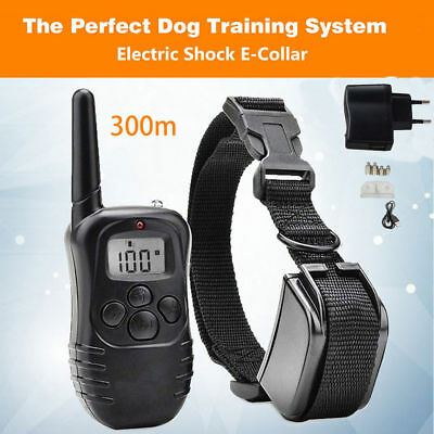 300M Collar de Perro Rainproof Rechargeable Electric Control Dog Training Collar