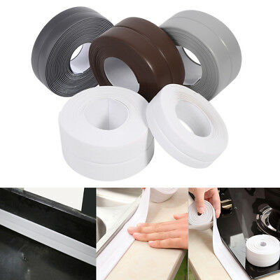 Kitchen Bath Wall Sealing Strip Self Adhesive 22/38MM Sink Basin Edge Tape New