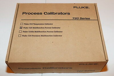 Fluke 725 Multifunction Process Loop Calibrator Mv Ma Volt 11/14 New