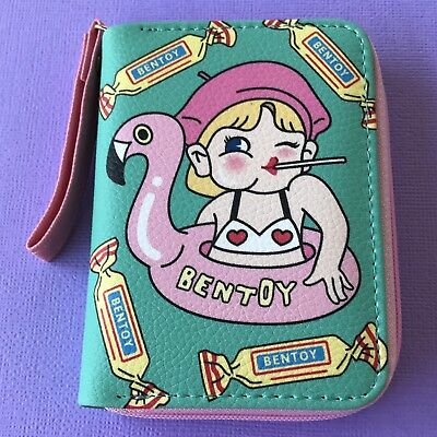 Retro Vintage Style Cute Girl Coin Purse