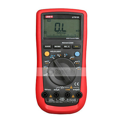 UNI-T UT61B AC DC Modern Digital Multimeter