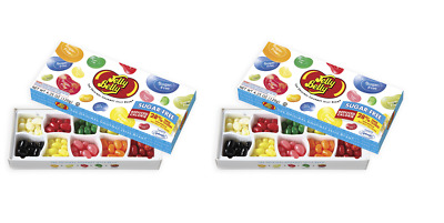 912673 2 x 120g LARGE BOXES OF JELLY BELLY SUGAR FREE 10 ASSORTED FLAVOURS USA