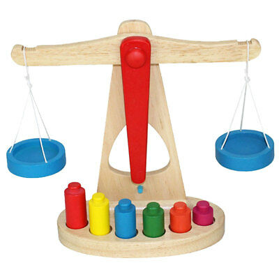 Early Educational Baby Early Evelopment Scale Balance Wooden Toy Game