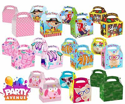Girls Boys Childrens Birthday Theme Character Favour Gift Party Boxes