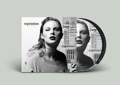 Taylor Swift Reputation limited edition vinyl 2 LP picture disc NEW/SEALED