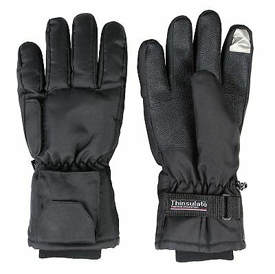 Heated Gloves Dual Fuel Battery Touch Screen Winter Outdoor Hunting Pocket Warm