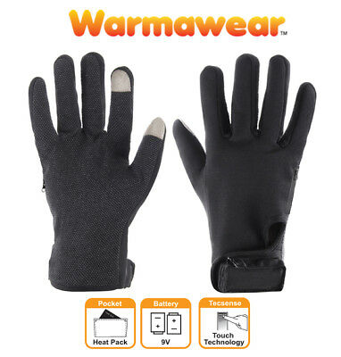Battery Heated Performance Gloves Unisex Warmawear Motorcycle Warm Hands Winter