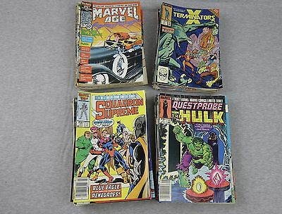 Large Mixed Lot of 100 1980's MARVEL Comic Books 80's