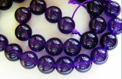 clearance-dyed amethyst round 6mm 8mm 10mm 12mm 14mm