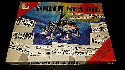 Vintage 1974 North Sea Oil Board Game