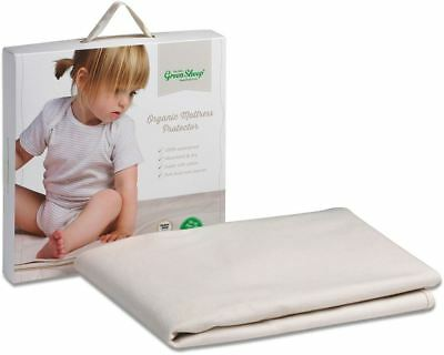 The Little Green Sheep ORGANIC COT/COT BED MATTRESS PROTECTOR BNIB