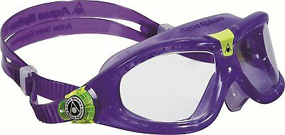 Aqua Sphere Seal Kid 2 Children Swimming Goggles - Violet / Clear lens
