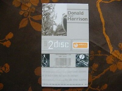 "DOUBLE CD SET - DONALD ""DUCK"" HARRISON - Modern Jazz Archive  NEUF SOUS BLISTER"