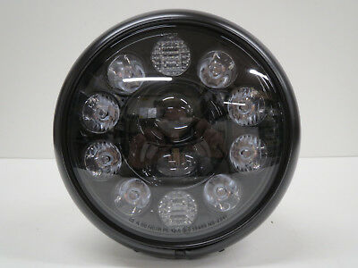 HIGHSIDER 7 Zoll HD STYLE TYP 1 LED Scheinwerfer Lampe head light