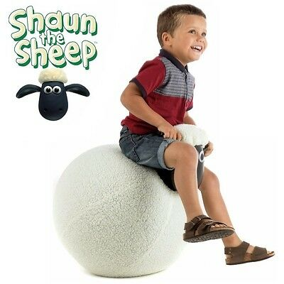 "Shaun The Sheep Large 19"" Inflatable Kid Child Bounce Ball Woolly Hopper Toy 64"