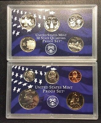 2000 U.S. Mint Proof Set-10 Coins
