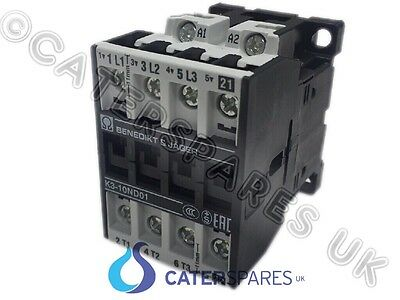 VALENTINE 628211 ELECTRIC FRYER CONTACTOR 25A 1NC 3NO MAIN CONTACTS 230v