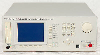 Newport Six Axis Esp7000 Motion Controller 6 Standard Power Drivers Tested Works